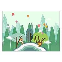 カーペット 敷物子供のフランネルカーペット動物パズルゲームベビープレイ長方形カーペットのために学ぶ (Color : D78, Size : 60x180cm)