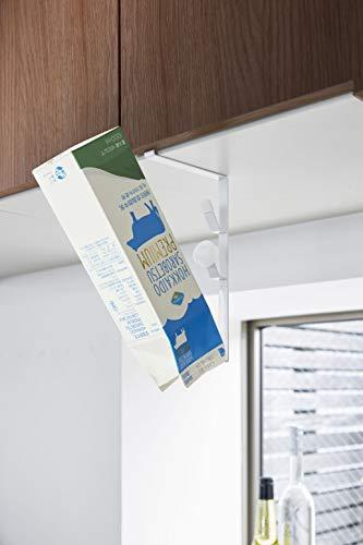 水筒の他には、牛乳パックやペットボトルを乾かすのにも向いています。フックは長さが異なり、ボトルが安定して干せるように、一番下が長くなっています。