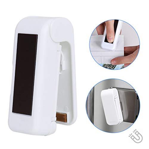 Folienschweißgerät, Mini Bag Sealer, Hand-Folienschweißgerät, Mini Folienschweißgerät Handlicher Tüten Verschweißer, für Jedes Plastikbeutel-Material