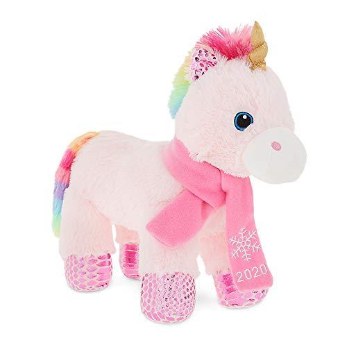 PetSmart Charities Holiday Pink Wish Plush, Squeaker Dog Toy