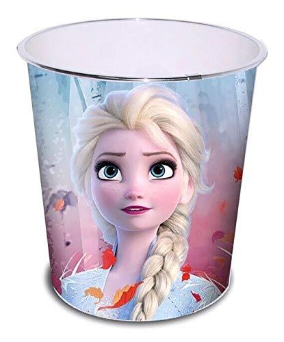 HOVUK® Kunststoff-Mülleimer mit Disney-Charakteren Die Eiskönigin 2, für Spielzimmer, Schlafzimmer, Papierkorb