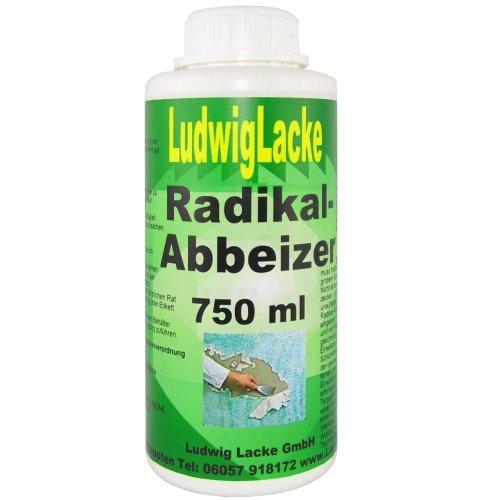 Ludwiglacke Radikal Abbeizer Abbeizmittel