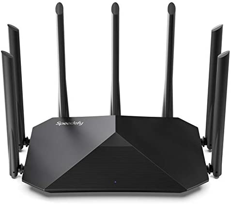 Speedefy AC2100 Smart WiFi Router Dual Band Gigabit Wireless Router for Home Gaming 4x4 MU MIMO product image