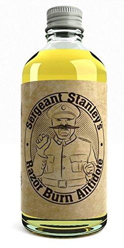 Sergeant Stanley's Razor Burn Antidote Öl Nach Der Rasur Bei Rasurbrand Reizungen und Abschürfungen Großbritannien Gemacht Mit Natürlichen und Organischen Bestandteilen 100 ml