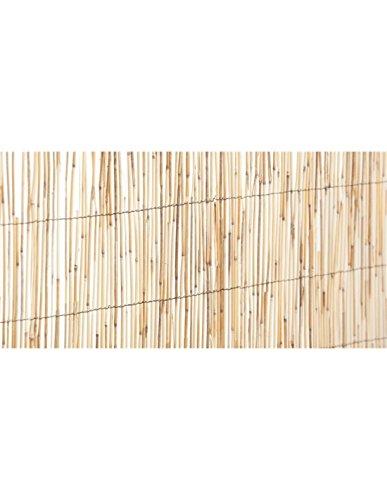 Jardin202 Rollo: 1 x 5 Metros - Cerramiento Natural Bambú Fino de ocultación | Seleccione LA Medida| Varias Medidas