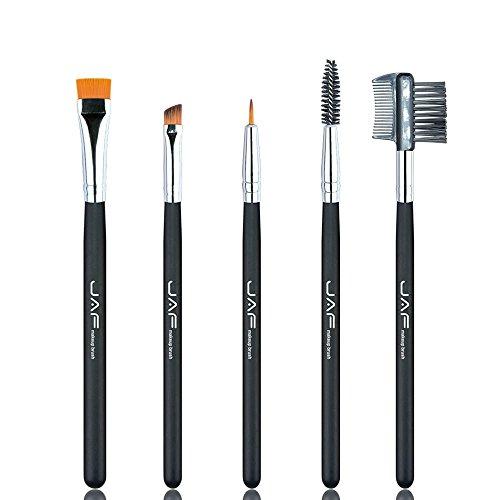 100% de maquillage for les yeux Vegan Cosmetic Brush Set for Eyeliner Eyebrow Eyelash Syenthetic Brosse Peigne Pinceau de maquillage