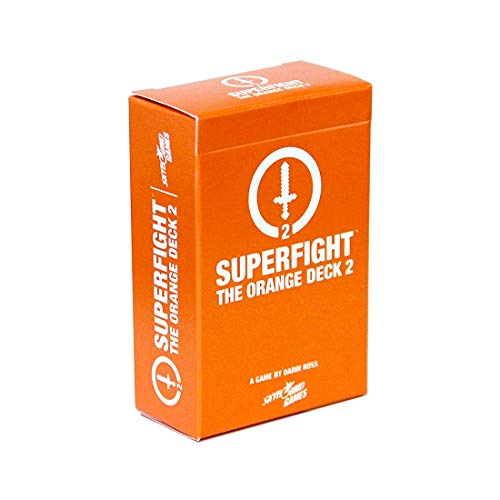 Superfight Orange Deck 2 : 100 New Nerdy Cards for The Game of Absurd Arguments | Party Game Expansion, 3 or More Players, Ages 11 Above
