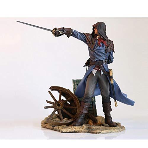 LBBD Assassins Creed Unity Arno Dorian Die Französisch Revolution Attentäter Robes Büste Statue Action-Figur Exquisite Box - 25cm