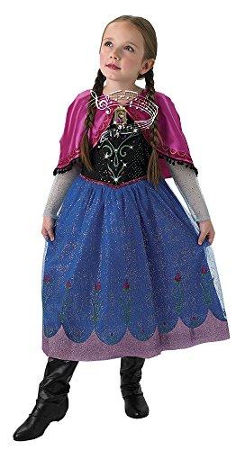 Rubie's Spain 610365-M Déguisement Anna avec lumière et musique Taille 5-6 ans