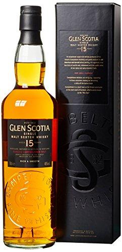 Glen Scotia 15 Years Old mit Geschenkverpackung (1 x 0.7 l)