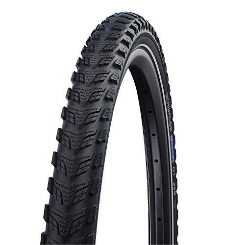 Schwalbe Marathon GT 365 Rigide Neumáticos para Bicicleta, Unisex Adulto, Negro, 20'-40-406