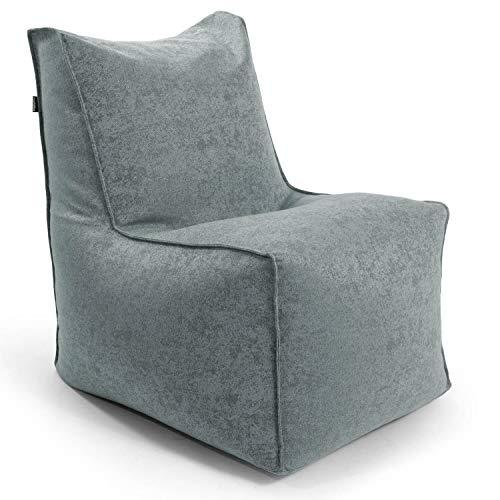 mokebo® Sitzsack-Sessel 'Der Ruhepol', Indoor Bean Bag, Sessel oder Leichter Relaxsessel, Made in Schwarzwald