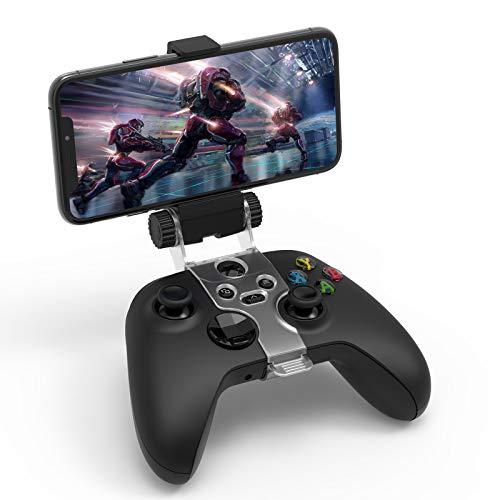 Auarte Extender Supporto per telefono controller per Xbox One Xbox Series X & S - Supporto per telefono con clip regolabile per Xbox One Controller wireless Microsoft Xbox Series X & S