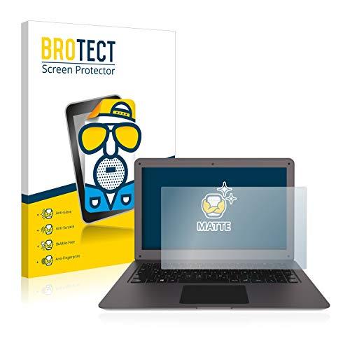 BROTECT Entspiegelungs-Schutzfolie kompatibel mit TrekStor Surfbook W2 Bildschirmschutz-Folie Matt, Anti-Reflex, Anti-Fingerprint