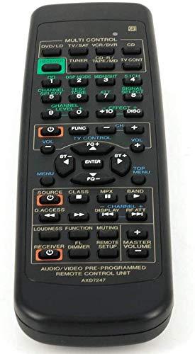 Ersatz-Fernbedienung für Pioneer AV-Receiver AXD7247, ersetzt VSX-D510 VSX-D209 VSX-D409