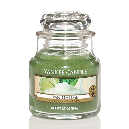 Yankee Candle Glaskerze, klein, Vanilla Lime