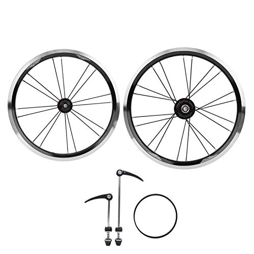 Alomejor Juego de Ruedas de Bicicleta Juego de Ruedas de aleación de...