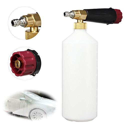 L-WSWS 1/4' Herramientas de Limpieza de Botellas de Coches de Espuma Lanza Nieve pulverizador de Alta presión de la arandela