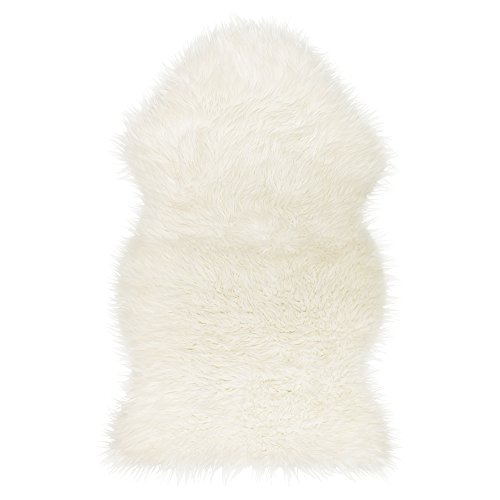 IKEA(イケア) TEJN 10229078 フェイクシープスキン, ホワイト