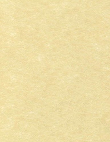 """LUXPaper 8.5"""" x 11"""" Paper for Crafts and Printing in Gold Parchment, Scrapbook and Office Supplies, 50 Pack (Gold)"""