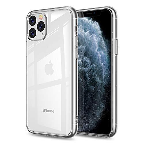 FayTun Funda para iPhone 11 Pro, Ultra Fina Silicona Suave TPU Gel Carcasa Anti-Choque Ultra-Delgado Anti-arañazos Protectora Case Cover para iPhone 11 Pro de 5.8