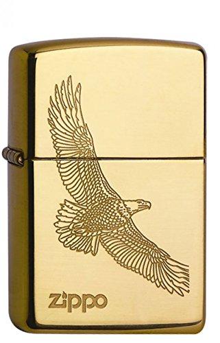 Zippo Zippo 1150001 60001332 Eagle Brass Feuerzeug, Messing Gold
