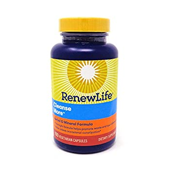 Renew Life Cleansemore Capsules 100 -Count Bottle