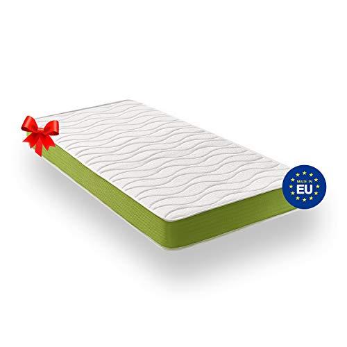 ZenPur Materasso Singolo 90x190 cm Memory Foam e Lattice | Spessore 20 cm – Fodera Traspirante Ipoallergenica Superstretch 3D – Garanzia 2 Anni