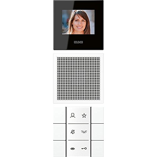 Jung vídeo-estación de interior m, porta SI VI LS 622 WW