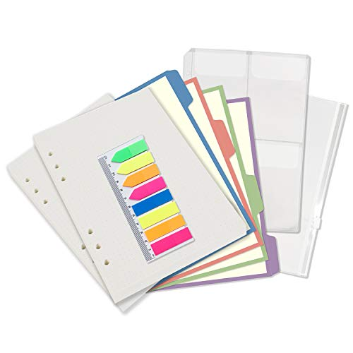 A5 6-Ring Binder/Planner Inserts...