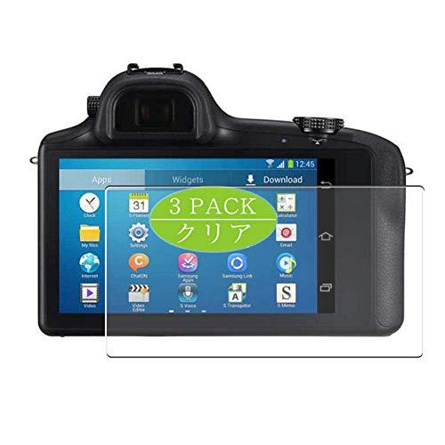 VacFun 3 Piezas Claro Protector de Pantalla, compatible con Samsung Galaxy NX, Screen Protector Película Protectora(Not Cristal Templado)