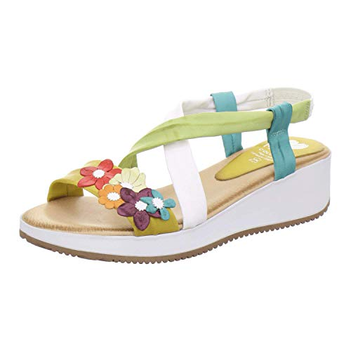 Marila Sandale Damen 1060 Größe 40 EU Mehrfarbig (Multicolor)