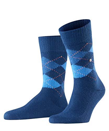 Burlington Herren Preston M SO Socken, Blickdicht, Blau (Navy 6187), 40-46 (UK 6.5-11 Ι US 7.5-12)