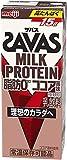 明治 ザバス ミルクプロテイン 脂肪 0 ココア風味 200ml×24本/2ケース
