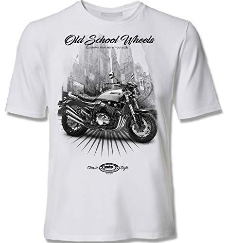 youtex KAWA Z900RS Black&White T-Shirt (XXL)