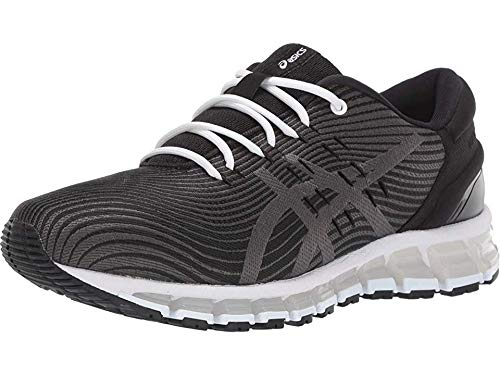ASICS Women's Gel-Quantum 360 4 Running Shoes, 8M, Black/Dark Grey