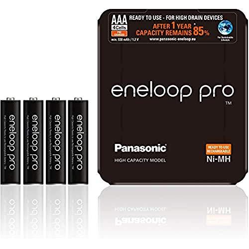Oferta de PANASONIC ENELOOP Pro R03/AAA 930MAH, 4 PCS, Sliding Pack