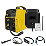 Flux Core Welder 110V, Multi Process Welder MIG and ARC, IGBT Inverter Combo Welder 160 Amp Gas/No Gas Shielded Welding Machine with MMA E-hand, Overheat Protection, US Plug