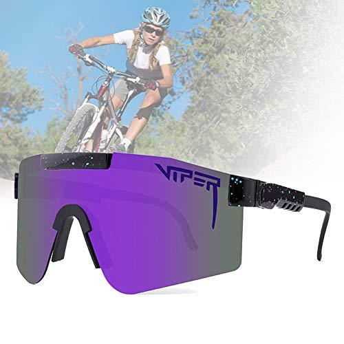 CWWHY Gafas De Sol Polarizadas, Gafas De Sol De Ciclismo, Gafas De Sol Deportivas para Ciclismo Hombres Mujeres Deportes Al Aire Libre Pesca Golf Gafas De Béisbol Gafas A Prueba De Viento,C03