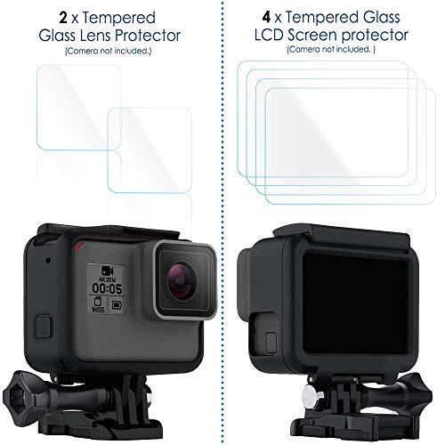 Coque de Protection 8 en 1 Compatible pour GoPro Hero 7/Hero 6/Hero