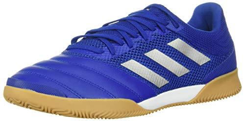 adidas mens Copa 20.3 Indoor Sala Soccer Shoe, Blue/Silver/Blue, 10 US