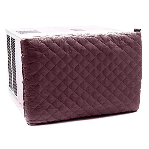 LOL Lo - Funda protectora para refrigerador de interiores y exteriores, resistente al viento, rojo vino, Small