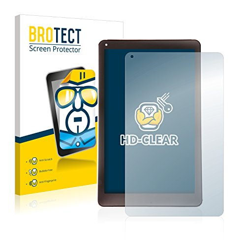 BROTECT Schutzfolie kompatibel mit Xido Z110 (2 Stück) klare Bildschirmschutz-Folie