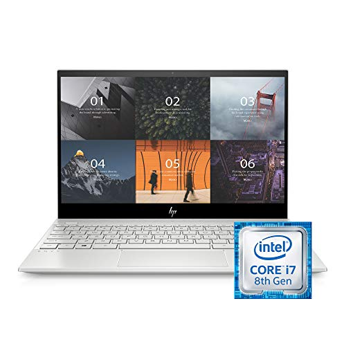 HP ENVY 13-13.99 Inches Thin Laptop w/ Fingerprint Reader,...