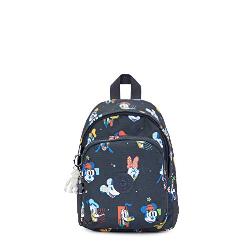 Kipling Disney's Mickey & Friends Delia Compact Convertible Backpack Black Size: One Size