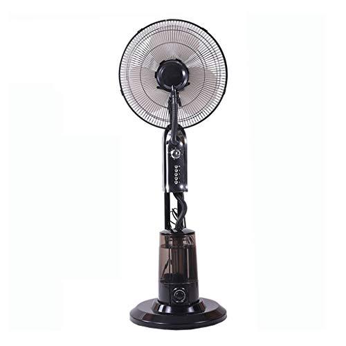 Ventilator Voor Buiten Op Voet, Vernevelde Oscillerende Ventilator, Bevochtiging en Koeling Industriële Spuit met 3,2L Grote Watertank