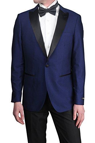 STACY ADAMS Men's 2 Pc. Slim Fit Suit, Navy, 42L