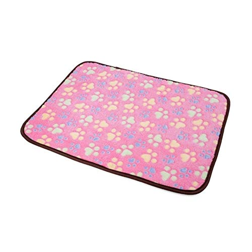 JINSUO NWXZU Cooling Mat Cool Pet Accessories Pet Cushion Pets Ice Pad Moisture-Proof Travel Easy To Clean Summer Dog Mat 6 Color Two Size (Color : 4, Size : M 40x29cm)