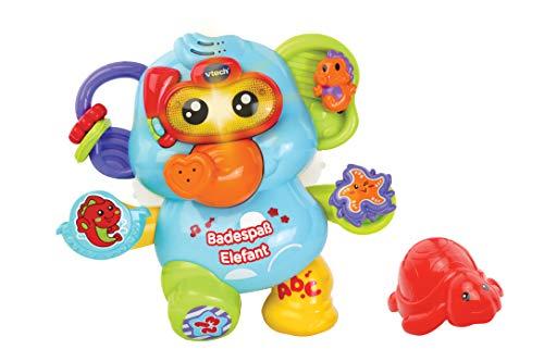 Vtech 80-515304 Badespaß Elefant, Badespielzeug, Mehrfarbig