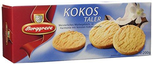 Borggreve Kokostaler - Kekse - 60 Packungen a 200 Gramm